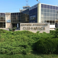 "Photo taken at Cluj-Napoca ""Avram Iancu"" International Airport (CLJ) by Cosmin D. on 7/3/2012"
