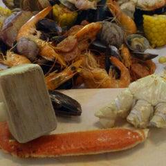 Photo taken at The Crab Pot by Ken .. on 5/21/2012