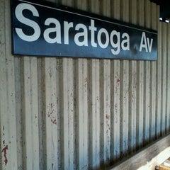 Photo taken at MTA Subway - Saratoga Ave (3) by Ricardo J. S. on 2/3/2012