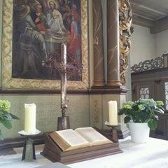 Photo taken at Evangelische Kirche Sulzbach/Ts by A.K. L. on 2/26/2012