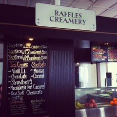 Photo taken at Raffles Creamery by Charlotte T. on 3/16/2012