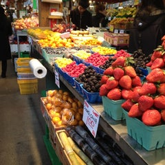 Photo taken at Granville Island Public Market by David C. on 3/10/2012