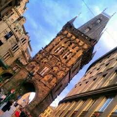 Photo taken at Staroměstská mostecká věž | Old Town Bridge Tower by TM H. on 8/10/2012