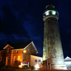 Photo taken at Fairport Harbor Marine Museum and Lighthouse by Angela M. on 5/3/2012