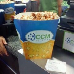 Photo taken at CCM Cinemas by Eri G. on 7/28/2012