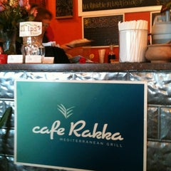 Photo taken at Cafe Rakka by Bob H. on 2/14/2012