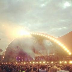 Photo taken at Orange Stage by LauraJul on 7/5/2012