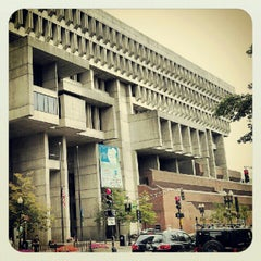 Photo taken at Boston City Hall by Michael on 8/12/2012