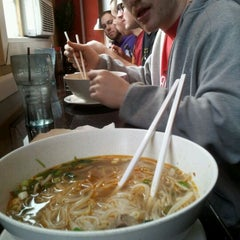 Photo taken at Lemongrass Noodle House by Alejandro d. on 3/17/2012