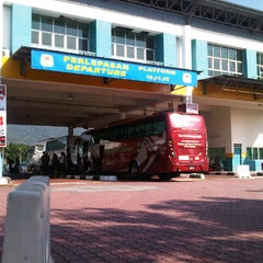 Photo taken at Sungai Nibong Express Bus Terminal by Hafifi H. on 7/22/2012