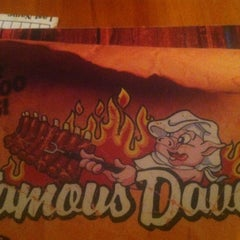 Photo taken at Famous Dave's by Keith R. on 7/4/2012