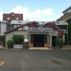 Photo taken at Motor City Brewing Works Inc by Gordon P. on 7/17/2012
