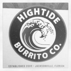 Photo taken at Hightide Burrito Co. by Lauren V. on 7/31/2012