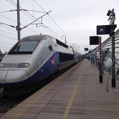Photo taken at Gare SNCF d'Avignon TGV by Guy M. on 4/18/2012
