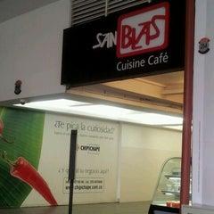 Photo taken at San Blas Cuisine Café by Alberto E. on 3/30/2012