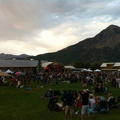 Photo taken at Crested Butte Center for the Arts by Jay N. on 7/3/2012