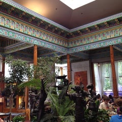 Photo taken at Dushanbe Teahouse by taylor m. on 6/16/2012