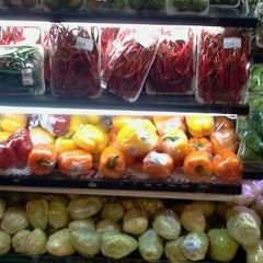 Photo taken at Brastagi Supermarket by Anna F. on 5/6/2012