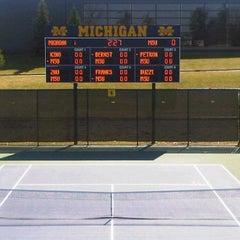Photo taken at University of Michigan Varsity Tennis Center by Bryan W. on 3/17/2012