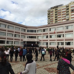 Photo taken at Adem Tolunay Anadolu Lisesi by Emre E. on 11/27/2015
