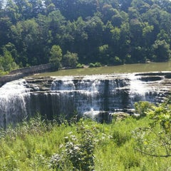 Photo taken at Lower Falls Park by Anthea H. on 7/28/2015