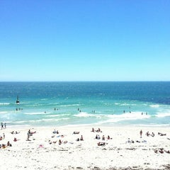 Photo taken at Cottesloe Beach by TaZZiE T. on 12/2/2012