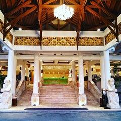 Photo taken at Grand Aston Bali Beach Resort by Amey W. on 10/25/2015