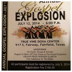 Photo taken at Fairfield, TX by True Vine Doxa C. on 5/26/2014