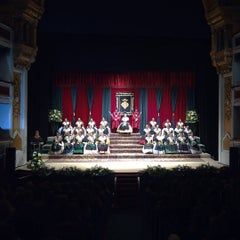 Photo taken at Teatre Principal by Sergio N. on 9/12/2015