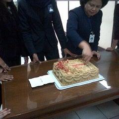 Photo taken at Bank BRI by Thyara D. on 12/18/2012