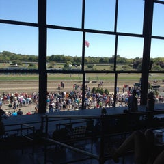 Photo taken at Suffolk Downs by Kevin V. on 9/5/2015