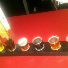 Photo taken at Old Mission Brewery by Ignacio G. on 1/25/2013
