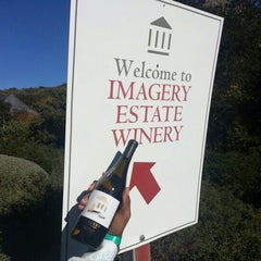 Photo taken at Imagery Winery by Troy P. on 11/25/2012
