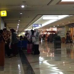 Photo taken at Gate 7 by Gunawan W. on 1/12/2014