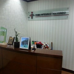 Photo taken at PT. Prima Integrasi Solusindo by Ferdi F. on 9/23/2013