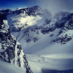 Photo taken at Blackcomb Glacier by Dustin B. on 2/27/2013