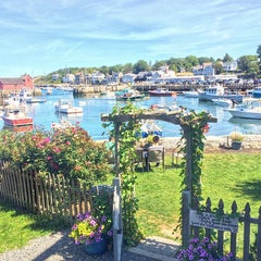 Photo taken at Rockport Harbor by E m m a r i n on 9/6/2015