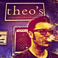 Photo taken at Theo's Neighborhood Pizza by Donovan F. on 4/15/2013