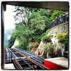 Photo taken at Peak Tram Upper Terminus by Abdullah Y. on 12/15/2012