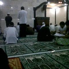 Photo taken at Masjid Agung Sudirman by abizar g. on 7/20/2014