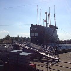 Photo taken at Подводная лодка «Б-413» by Mary I. on 5/18/2013