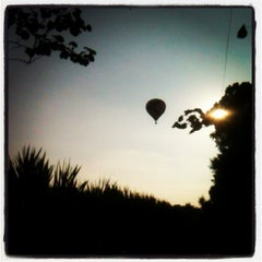 Photo taken at Lincoln Art & Balloon Festival - at Logan County Airport by Charles C. on 8/23/2013