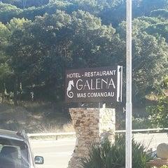 Photo taken at Galena Mas Comangau Hotel Begur by Elisenda on 12/6/2013