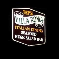 Photo taken at Tep's Villa Roma by Phil M. on 4/16/2014