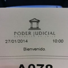 Photo taken at 1° Juzgado de Familia by Javiera O. on 1/27/2014