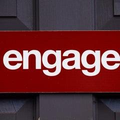 Photo taken at Engage by Erik R. on 9/18/2013