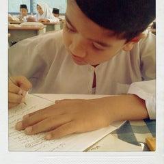 Photo taken at Sekolah Agama Bandar Seri Alam by Ian Y. on 3/13/2013