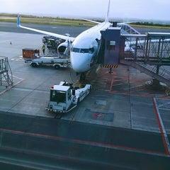 Photo taken at Dortmund Airport (DTM) by Esma G. on 6/3/2015