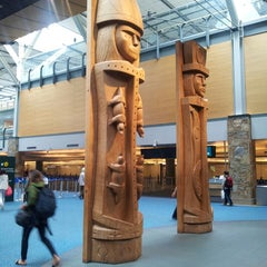Photo taken at Vancouver International Airport (YVR) by Jason S. on 4/26/2013