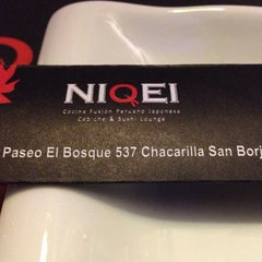 Photo taken at Niqei by Carlos Augusto L. on 8/9/2014